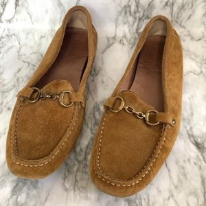 J. Crew men's suede loafers size 10